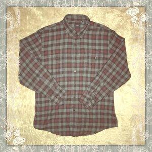 Men's Button Down Flannel Shirt